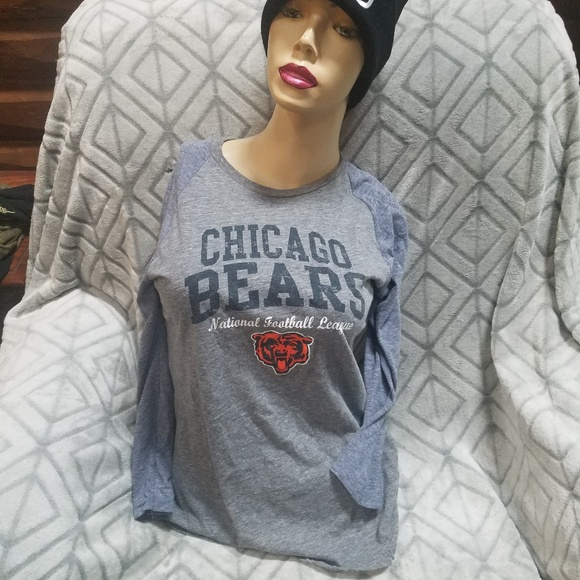e77ed335616d1 Touch by Alyssa Milano Tops | Chicago Bears Tshirt 2 Tones Elbow ...